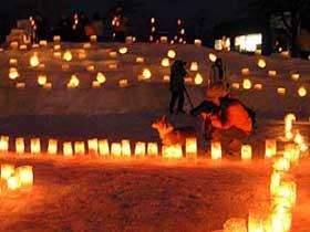 2011年2月12日去年のゆきあかりin中島公園