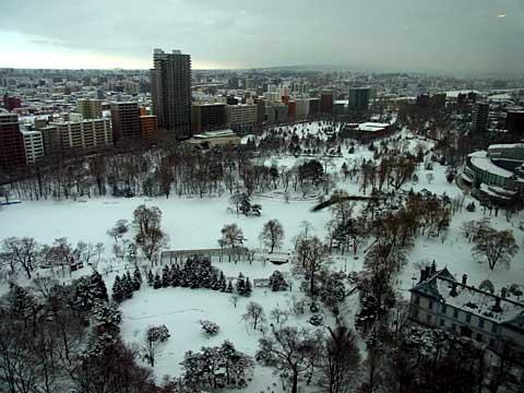 2012年1月2日中島公園全景