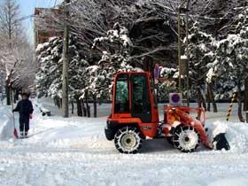2012年1月6日除雪作業