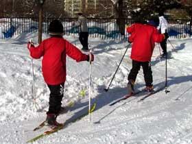 2012年1月28日歩くスキー・ボート乗場